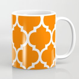 MOROCCAN ORANGE AND WHITE PATTERN 2020 Coffee Mug