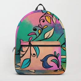 Magical Flowers No2 Backpack