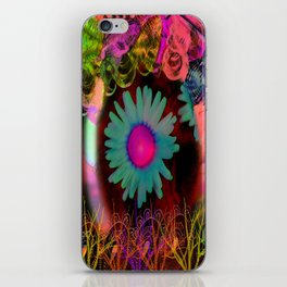 Tripping Daisies iPhone Skin