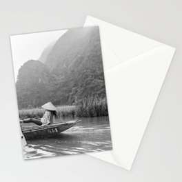 Rowing by feet in Tam Coc | Vietnam | Travel photography | Fine Art | Photo Print |  Stationery Cards
