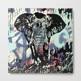 Lucky elephant 2 Metal Print