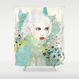 FASHION ILLUSTRATION 10 Shower Curtain