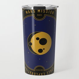Mars Mission Travel Mug