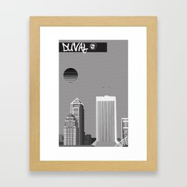 Duval Framed Art Print