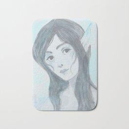 Mermaid (Blue) Bath Mat
