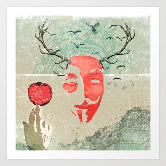 newton Art Print