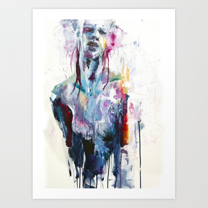 Discover the motif NOTHING IS ENOUGH by Agnes Cecile as a print at TOPPOSTER