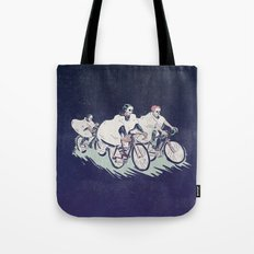 Ghost Race Tote Bag