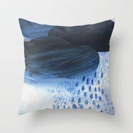 Rainstorm Throw Pillow