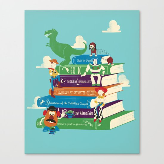 Toy Stories Canvas Print