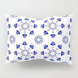 blue morrocan dream no2 Pillow Sham