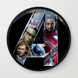 The Avengers 2 Wall Clock