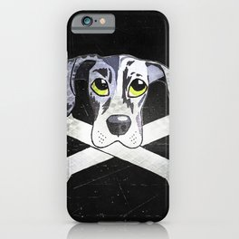 Nyx the Emo Great Dane iPhone Case