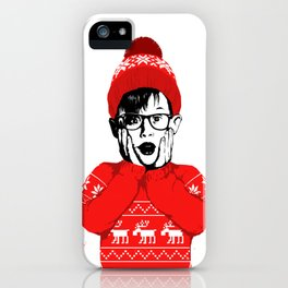 home alone iPhone Case