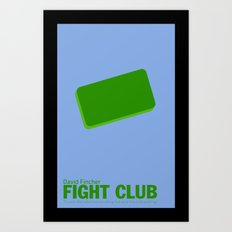 Fight Club | Minimalist Movie Posters Art Print