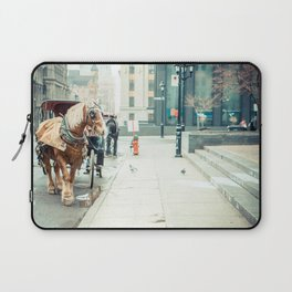 Montreal Taxi Laptop Sleeve