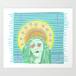 """Pastel Oppression""  Art Print"