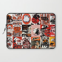 Halloween : Trick Or Treat, Smell My Feet, Gimmie Something Good To Eat. Laptop Sleeve