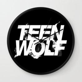 Teen wolf Wall Clock