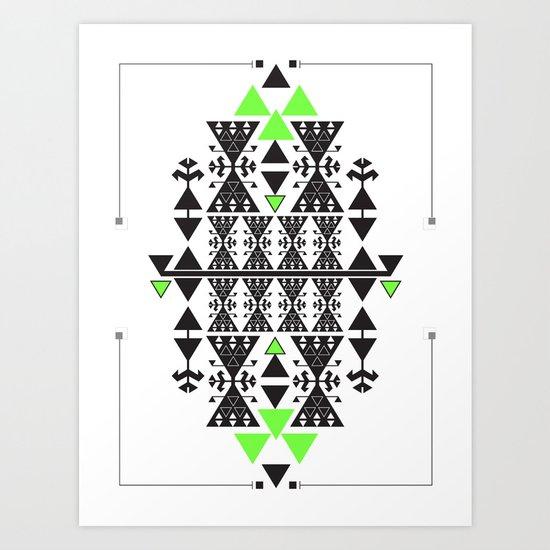 :::Space Rug::: Art Print