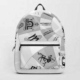 Western Zodiac Circle Backpack