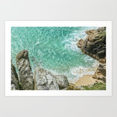 Cornish Paradise Art Print