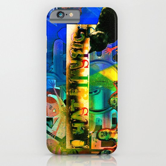 """""""I Hate Music"""" by Cap Blackard iPhone & iPod Case"""