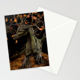 The Autumn Tree Dragon Stationery Cards