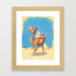 Cameltart Framed Art Print
