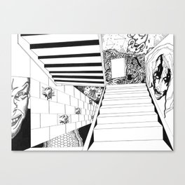Musical Stairs Canvas Print