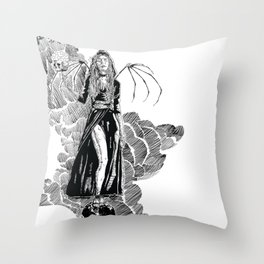 The Seven Stars Throw Pillow