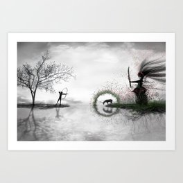 Potnia | Mother Earth Art Print