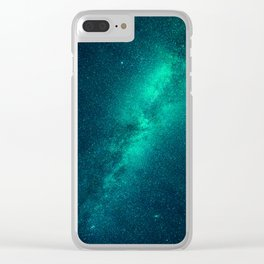 Galaxy Lights Clear iPhone Case