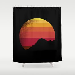sandstorm Shower Curtain