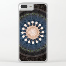 Focused at the Top Clear iPhone Case