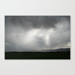 Clouds, Sheets, Light Canvas Print