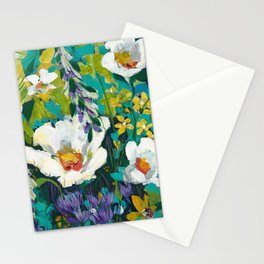 Poppy Clouds Stationery Cards