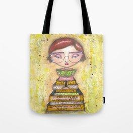 At the Library Tote Bag