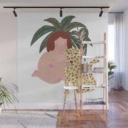 Jungle Girl Wall Mural