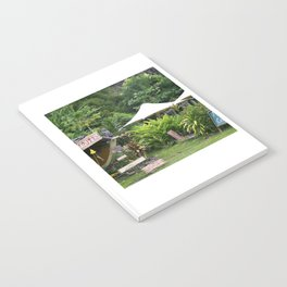 Fruit Stand in Tropical French Polynesia Notebook