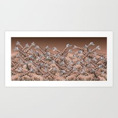 Sea of Giraffes Art Print