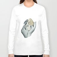 cuddle Long Sleeve T-shirts featuring Cuddle by fabiotir