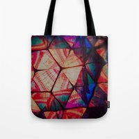 prism Tote Bags featuring Prism by Lotus Effects