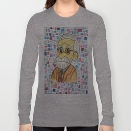 Sigmund Fraud Long Sleeve T-shirt