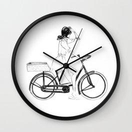 Anita | Fashion illustration Wall Clock