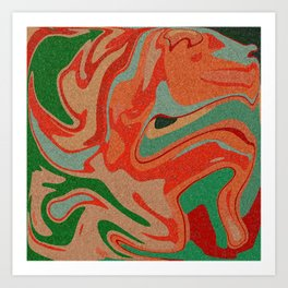 Abstract Colorful Pattern Art Print