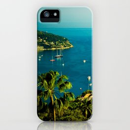 Côte d'Azur iPhone Case