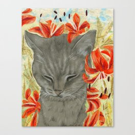TigerLily's Tigerlilies Canvas Print