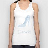cinderella Tank Tops featuring Cinderella by Citron Vert