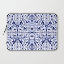 Chinoiserie Folk Seamless Pattern Laptop Sleeve